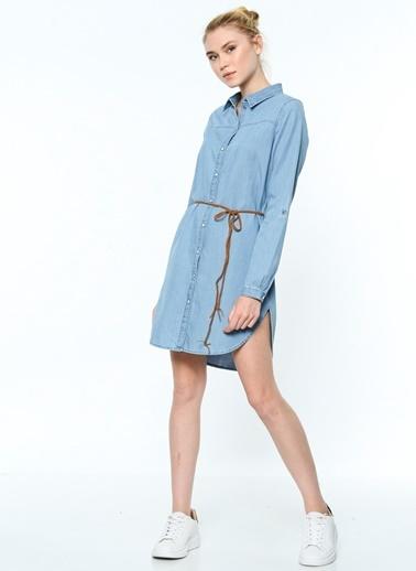 Jean Gömlek Elbise-Vero Moda
